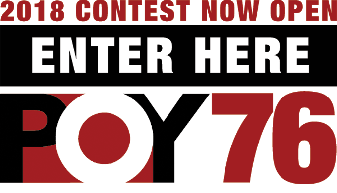 2018 CONTEST NOW OPEN | ENTER HERE | POY 76